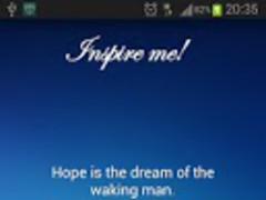 Inspire Me! - Quotes 1.0 Screenshot
