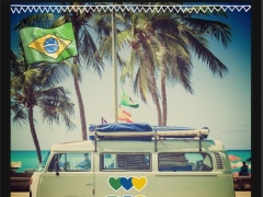 InstaBrasil Brazil & Carnival Rio de Janeiro Photo Editor – Add stickers and backgrounds to pic 1.0 Screenshot
