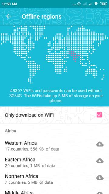 Free WiFi Passwords