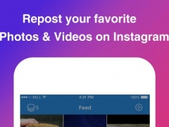 Instagrab Repost for Instagram - Repost Photos and Videos for IG 2.5 Screenshot