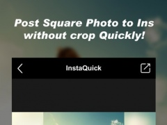 InstaQuick-No crop photo editor for Free Download