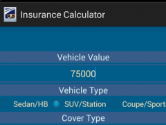 Insurance Calculator Auto 1.2 Screenshot