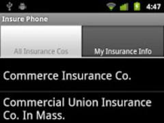 InsurePhone: Insurance Info 1.4 Screenshot