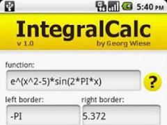 IntegralCalc 2.5 Screenshot