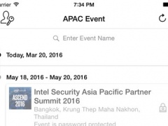 Intel Security Asia Pacific Partner Summit 2016 1.6 Screenshot