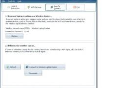 INTEL Wireless Laptop Router 8.2 Screenshot