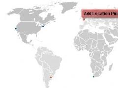 Interactive Flash World Map 1.0 Screenshot