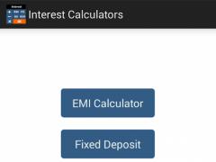 Interest Calculators 1.3.6 Screenshot