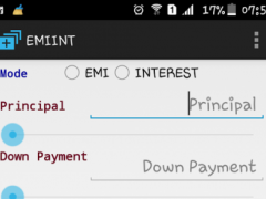 Interest & Loan EMI Calculator 1.0 Screenshot