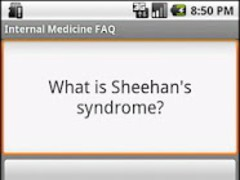 Internal Medicine FAQ Lite 2.0 Screenshot