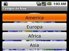 International Area Code 1.0.2 Screenshot