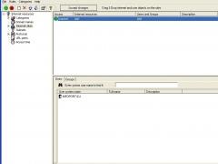 Internet Administrator for Microsoft ISA Server 2.6 Screenshot