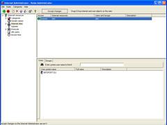 Internet Administrator for Network 3.0 Screenshot