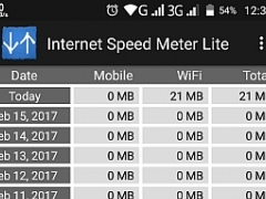 Review Screenshot - Checking Internet Speed Made Easy!