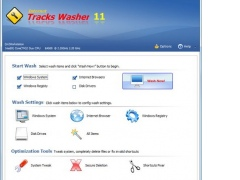 Internet Tracks Washer 12 Screenshot