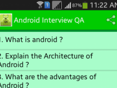 Interview Cracker for Android 1.1 Screenshot