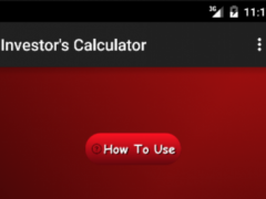 Investor's Calculator 1.9 Screenshot