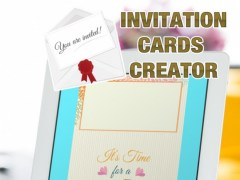 Invitation Cards Creator – Send Beautiful e-Card.s Free and Invite Friends to Your Party 1.0 Screenshot
