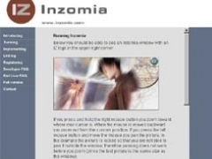 Inzomia Web trial 1.0 Screenshot