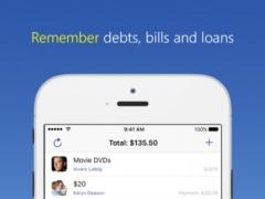 IOU - debt manager 3.08 Screenshot