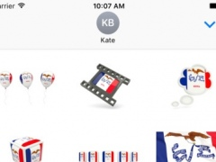 Iowa Flag Stickers 1.0 Screenshot