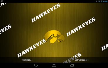 Iowa Hawkeyes Live Wallpaper 4.2 Free
