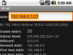 IP Address Calculator 1.2 Screenshot