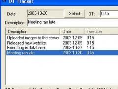 IP Overtime Tracker 1.01 Screenshot