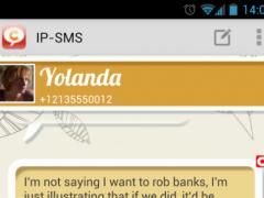IP-SMS - cheap text messages 3.21.1 Screenshot