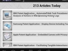 iPaperz Tech Patent News 2.25 Screenshot