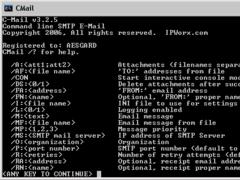 CMail 3.2.3 Screenshot