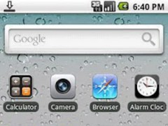 iPhone 4 Theme for ADWLauncher 1 Screenshot