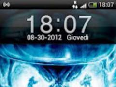 iPhone 4s Skull GO Locker 3.0 Screenshot
