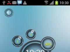Bubble MagicLocker theme 1.2 Screenshot