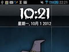 Halloween locker screen 1.0 Screenshot