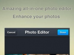 iPhoto Editor - All PS Effects In One Photo Editor App for Instagram,Snapchat,Pinterest,Path,Hotmail 3.6 Screenshot