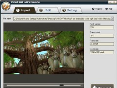 iPixSoft SWF to FLV Converter 2.8.0 Screenshot