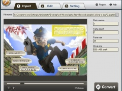 iPixSoft SWF to PSP Converter 2.5.0 Screenshot