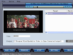 Ipodelite Video To Zune Converter 1.2 Screenshot