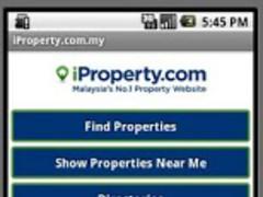 iProperty.com Malaysia Tablet 1.5 Screenshot