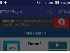 IPTV Player (Streaming) 1.0 Screenshot