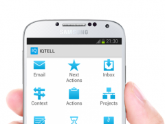 IQTELL Email app and GTD® 2.8.0 Screenshot