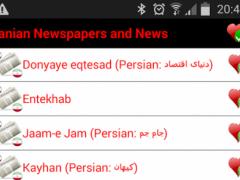 Iranian Newspaper and News 1.2 Screenshot