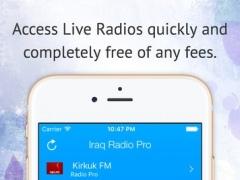 Iraq Radio Pro 1.0.2 Screenshot