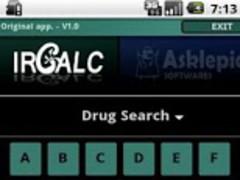 IRCALC - Drug dosage in RF 1.2 Screenshot