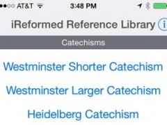 iReformed Reference Library 8.0 Screenshot
