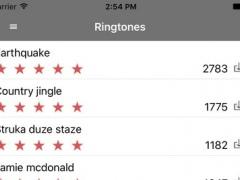 iRing - Free Ringtones for iPhone 6s 2.0.1 Screenshot