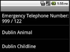 Irish Emergency Numbers 1.2 Screenshot