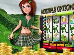 Irish Lucky Eyes Slot machines - Little Leprechaun Pot of Gold Mobile World Casino 1.0 Screenshot