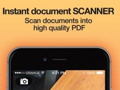 iScan PRO - Instant document scanner & translator 1.2 Screenshot